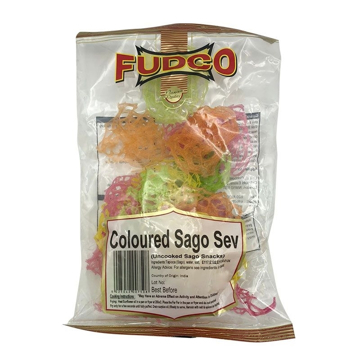 Fudco Coloured Sago Sev 150g