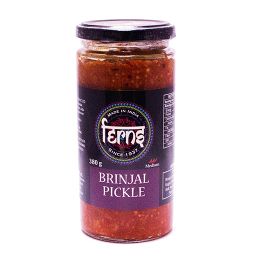 Ferns Brinjal Pickle Medium 380g