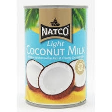 Natco Light Coconut Milk 400ml