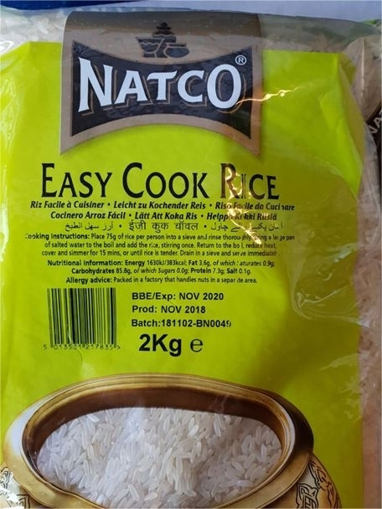 Natco Easy Cook Rice 2kg