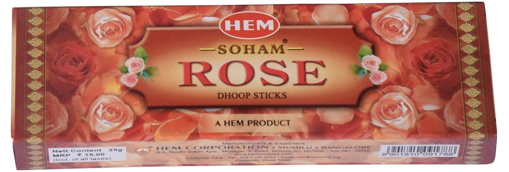 Hem Soham Rose Dhoop Sticks