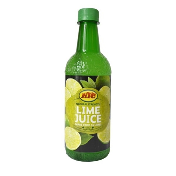 KTC Natural Strength Lime Juice 500ml
