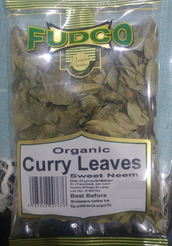 Fudco Organic Curry Leaves 20g