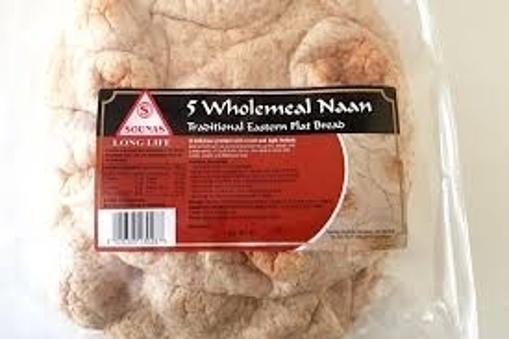 Sounas 5 Wholemeal Naan