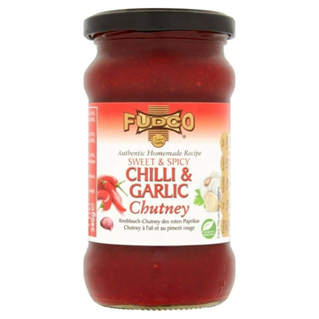 Fudco Sweet & Spicy Chill&Garlic Chutney 340g