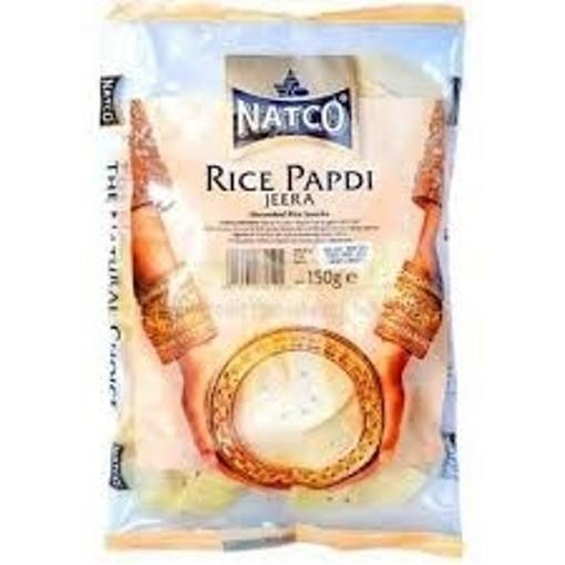 Natco Rice Papdi Jeera 150g