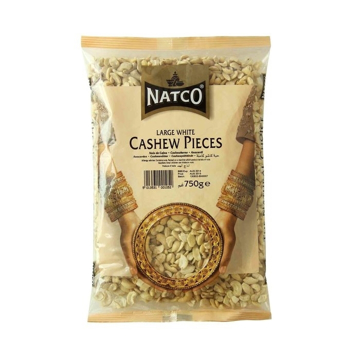 Natco Large White Cashew Pieces 750g