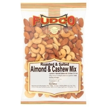 Fudco Roasted & Salted Almond & Cashew Mix 200g