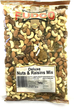 Fudco Deluxe Nuts and Raisins Mix 700g
