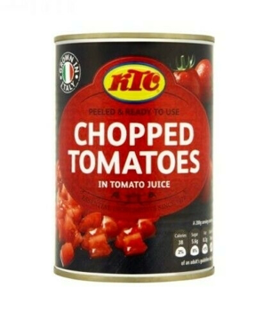 KTC Chopped Tomatoes Tin 400g