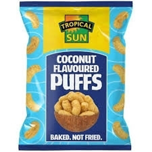 Tropical Sun Coconut Puffs 50g