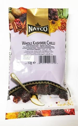 Natco Whole Kashmiri Chilli 80g