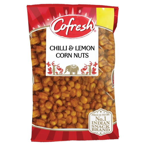 Cofresh Chilli & Lemon Corn Nuts 350g  PM£1