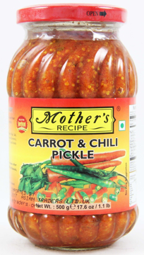 Mother's Recipe Carrot & Chilli Pickle 500g