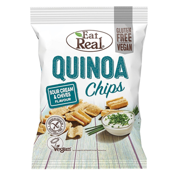 Eat Real Gluten Free Vegan Quinoa Chips 30g