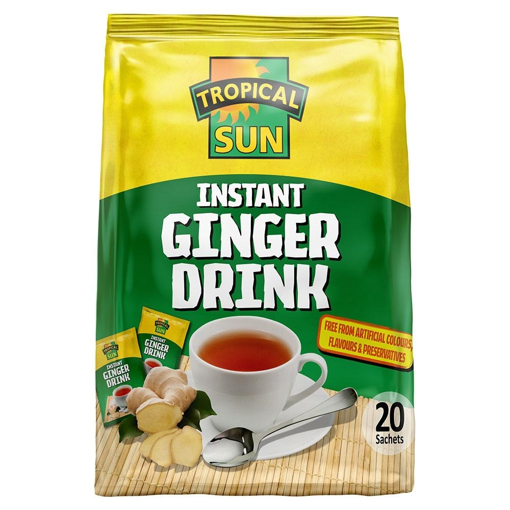 Tropical Sun Instant Ginger Drink 20 Sachets