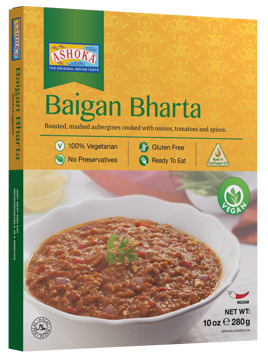 Ashoka Ready to Eat Baigan Bharta 280g