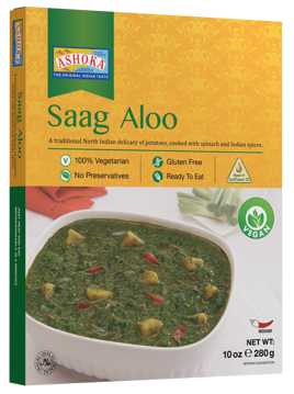 Ashoka Saag Aloo (Spinach & Potato) 280g