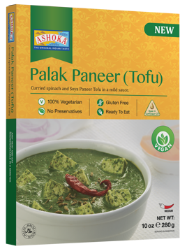 Ashoka Palak Paneer (Tofu) Ready to Eat 280g