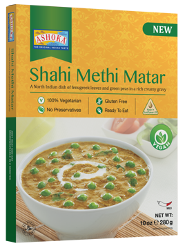 Ashoka Ready to Eat Sahi Methi Matar 280g