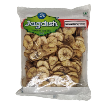 Jagdish Banana Crisps Pepper 200g