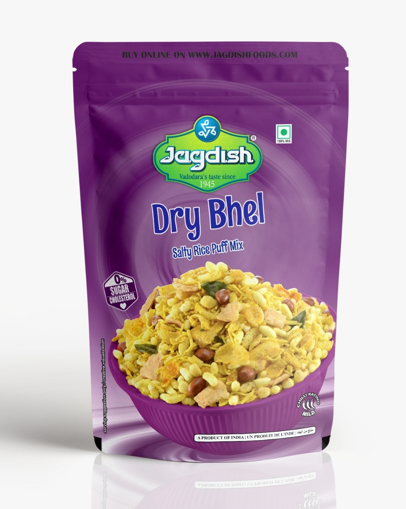 Jagdish Dry Bhel (Salty Rice PuffMix) 200g