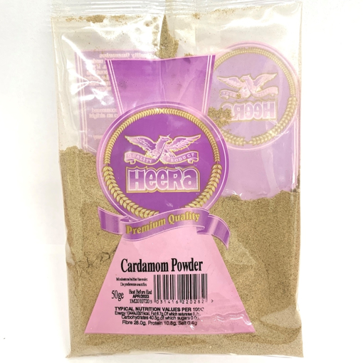 Heera Cardamom powder (Ground Elachi) 50g