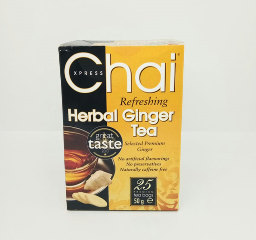 Chai Xpress Herbal Ginger Tea 25 Bags (50g)