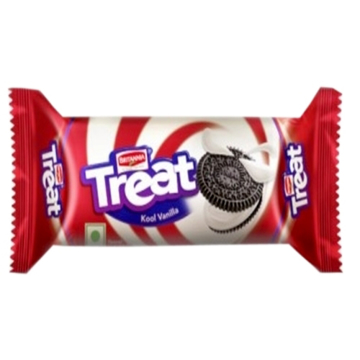 Britannia Treat Kool Vanila Biscuits 100g
