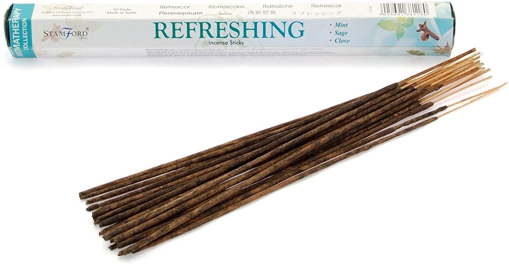 Stamford Aromatherapy Refreshing 20 Incense Sticks
