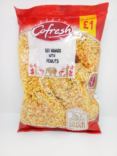 Cofresh Sev mamra with peanuts 350g £1