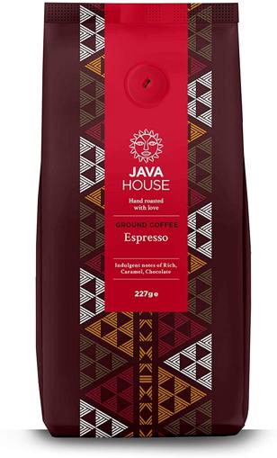 Java House Roasted Ground Coffee Espresso 227g