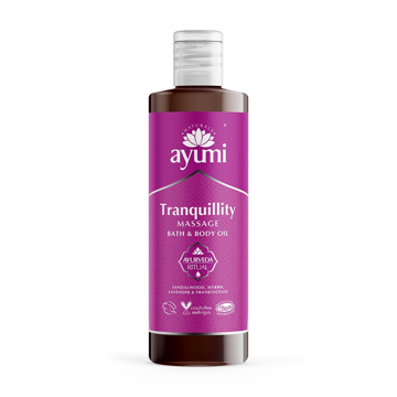 Ayumi Tranquility Massage Bath & Body Oil 250ml
