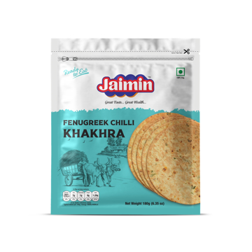Jaimin Fenugreek Chilli Khakhra 180g