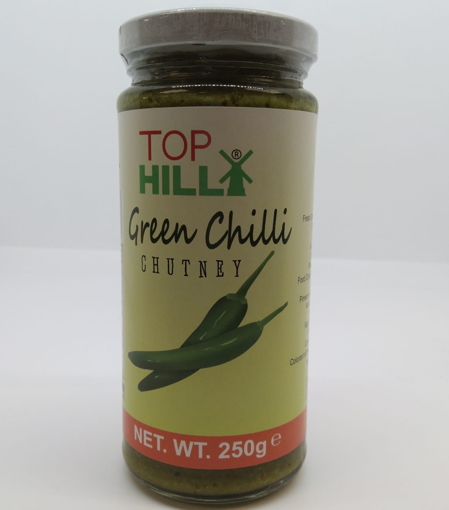 Top Hill Green Chilli Chutney 250g