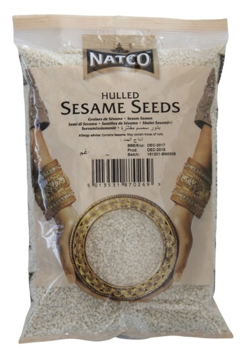 Natco Hulled Sesame Seeds 100g